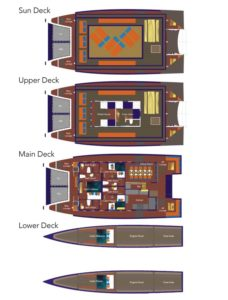 Boat Layout - Mastro Aldo Indonesia Liveaboard - Liveaboard Indonesia