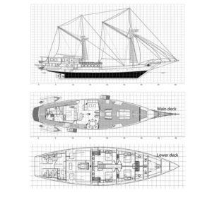 Boat Layout - Ocean Pure Liveaboard Komodo Island - Liveaboard Indonesia